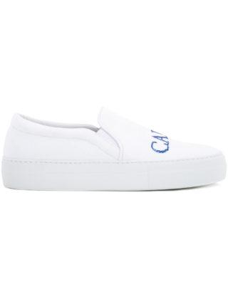 Joshua Sanders Capri slip-on sneakers (wit)