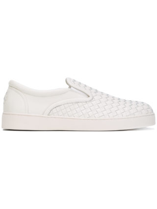 Bottega Veneta Dodger intrecciato sneakers - White