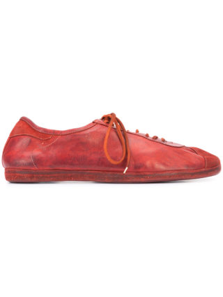 Guidi lace-up sneakers (rood)