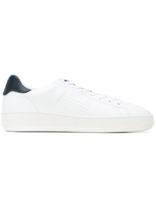 Hogan Rebel contrast patch trainers - White