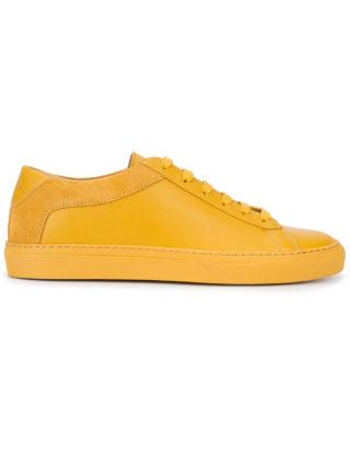 Koio Capri Zafferano sneakers (geel/oranje)