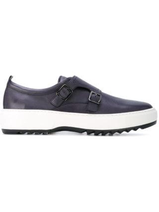 Salvatore Ferragamo monk strap sneakers (blauw)