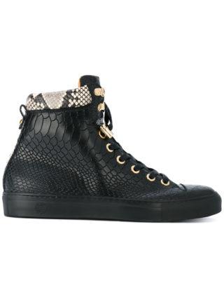 Giuliano Galiano No Limits hi-top sneakers (zwart)