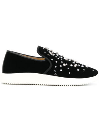 Giuseppe Zanotti Design Dazzling Kim sneakers (zwart)