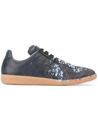 Maison Margiela Grey Paint Splatter Replica sneakers - Blue