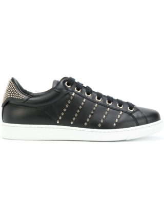 Dsquared2 studded Tennis Club sneakers - Black