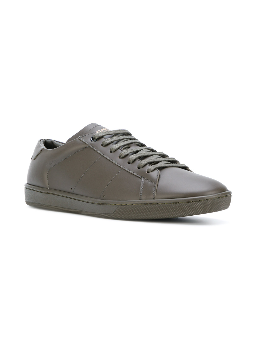 Laurent groen Saint Court Sneakers Sl01 Classic Signature BdFdYq