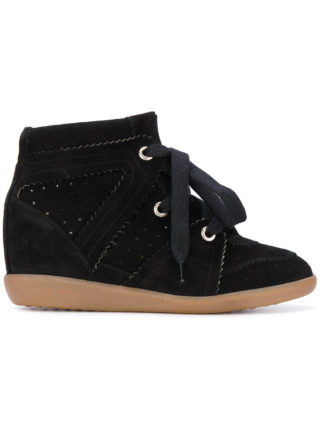 Isabel Marant Bobby wedge sneakers - Black