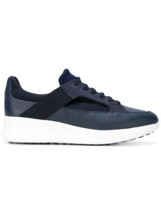 Salvatore Ferragamo lace-up sneakers (blauw)