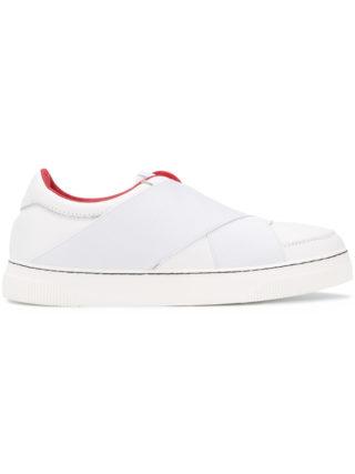 Proenza Schouler Cross Front Sneaker (wit)