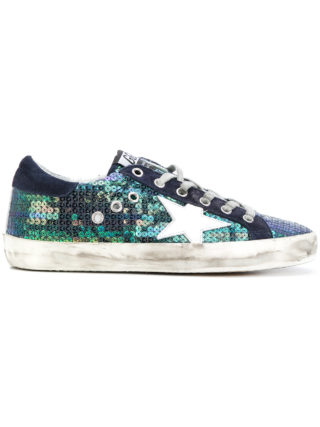 Golden Goose Deluxe Brand Superstar sneakers (blauw)