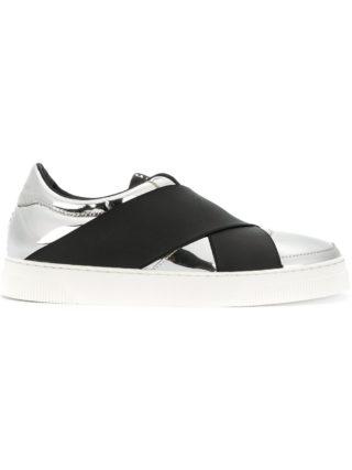 Proenza Schouler elasticated strap sneakers (grijs)