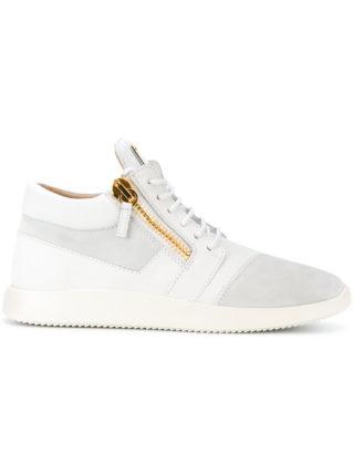 Giuseppe Zanotti Design Runner mid-top sneakers - White