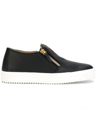 Giuseppe Zanotti Design Adam laceless sneakers - Black