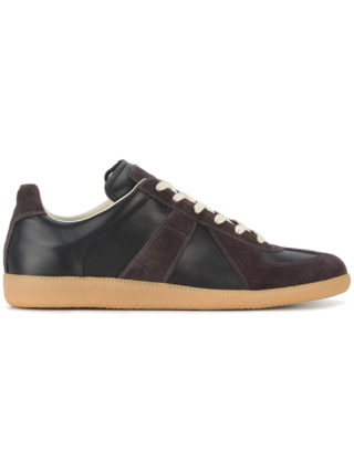 Maison Margiela Brown Black Replica Sneakers