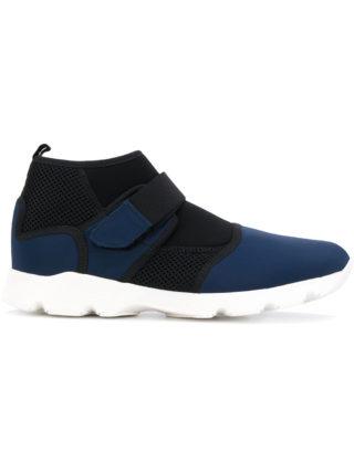 Marni technical fabric sneakers (blauw)