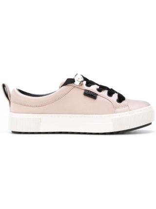 Karl Lagerfeld lace up sneakers (roze/paars)