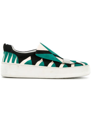 Sergio Rossi Blair slip on sneakers (multicolor)