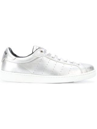 Dsquared2 metallic sneakers (zilver)