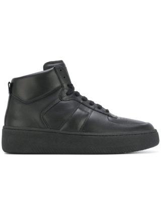 Maison Margiela hi-top lace-up sneakers (zwart)