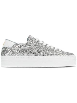 Chiara Ferragni Logomania sneakers (zilver)