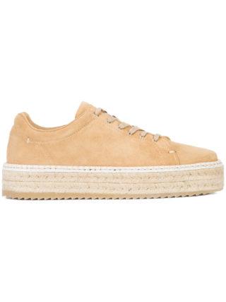 Rag & Bone platform espadrille sneakers (bruin)