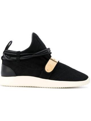 Giuseppe Zanotti Design Hayden mid-top sneakers (zwart)