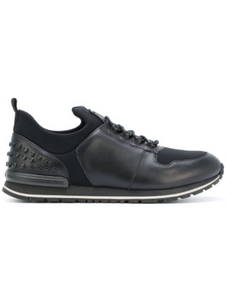 Tod's lace up sneakers (zwart)