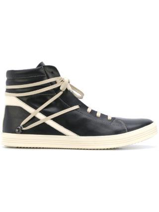 Rick Owens Thrasher hi-top sneakers (zwart)