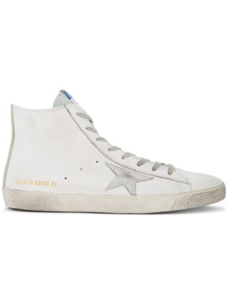 Golden Goose Deluxe Brand White Francy hi top sneakers
