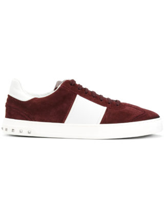 Valentino lace-up sneakers - Red