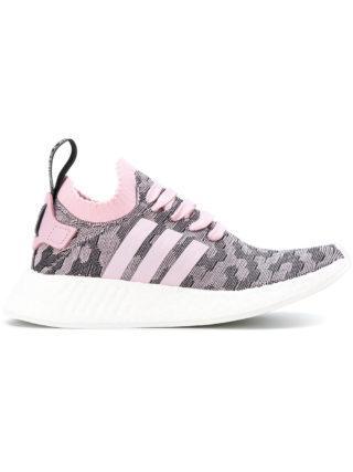 Adidas Adidas Originals NMD_R2 Primeknit sneakers - Pink & Purple
