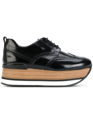 Hogan H222 platform sneakers - Black