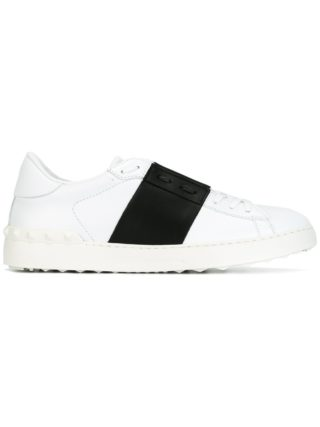 Valentino open low-top sneakers - White