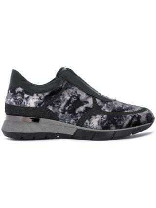 Baldinini patterned sneakers (zwart)