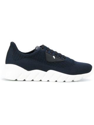Fendi appliqué sneakers (blauw)
