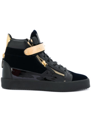 Giuseppe Zanotti Design Coby hi-top sneakers - Black