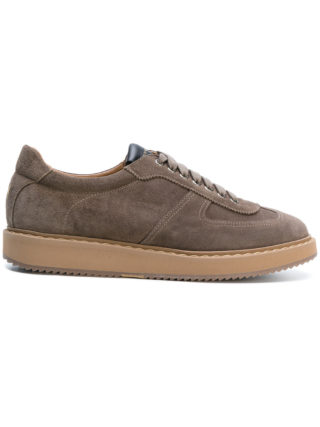 Henderson Baracco Corsa lace-up sneakers (bruin)