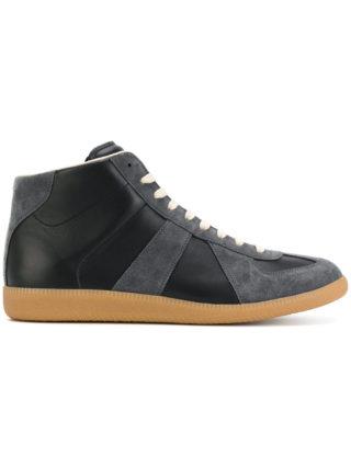 Maison Margiela Replica hi-top sneakers - Black