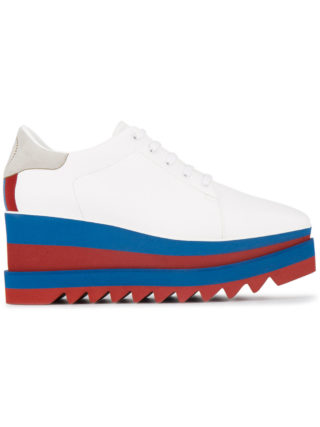 Stella McCartney Sneak Elyse 75 platform sneakers - White