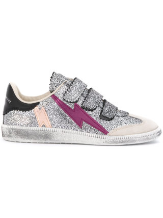 Isabel Marant Beth sneakers - Metallic