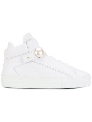 Nicholas Kirkwood 40 mm Pearlogy sneakers (wit)