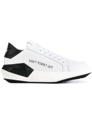 Cinzia Araia printed platform sneakers (wit)