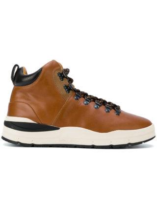 Woolrich high top sneakers (bruin)
