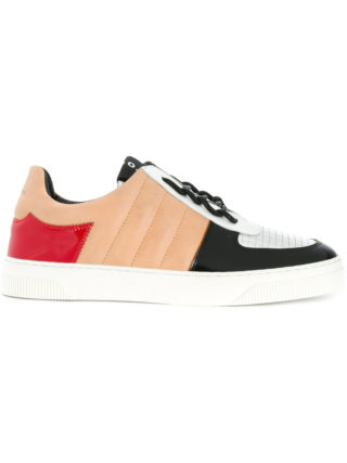 Proenza Schouler panelled lace-up sneakers (multicolor)