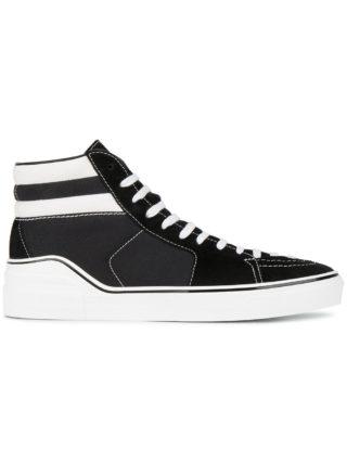 Givenchy Black & White Skate Hi Top sneakers (zwart)