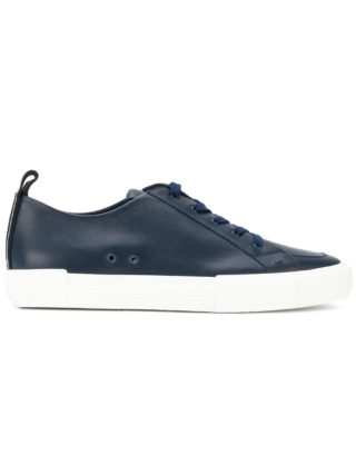 Fendi classic lace-up sneakers (blauw)