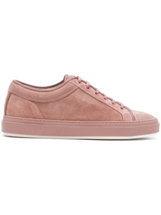 Etq. low top lace-up sneakers (roze/paars)