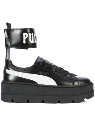 Fenty X Puma ankle strap platform sneakers - Black