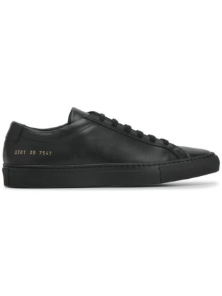 Common Projects black Original Achilles Leather Sneakers